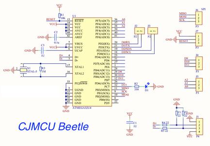 CJMCU Arduino Beetle