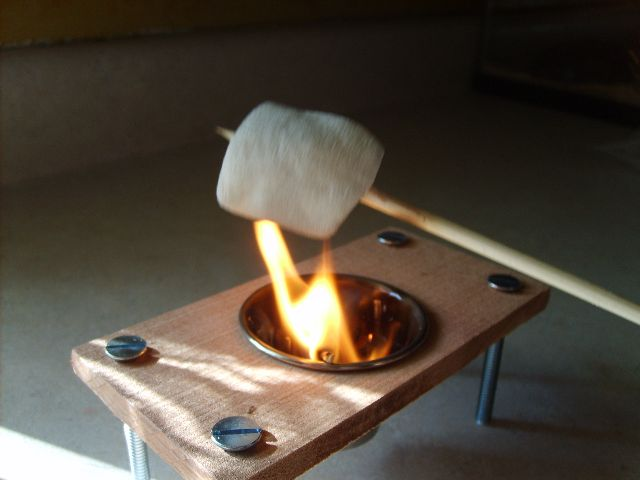 Picture of Fill It With Toothpicks, Light It Up and Start Toasting Marshmallows