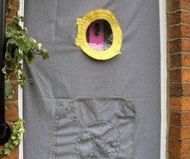 Submarine Style Door Wind-cheater,