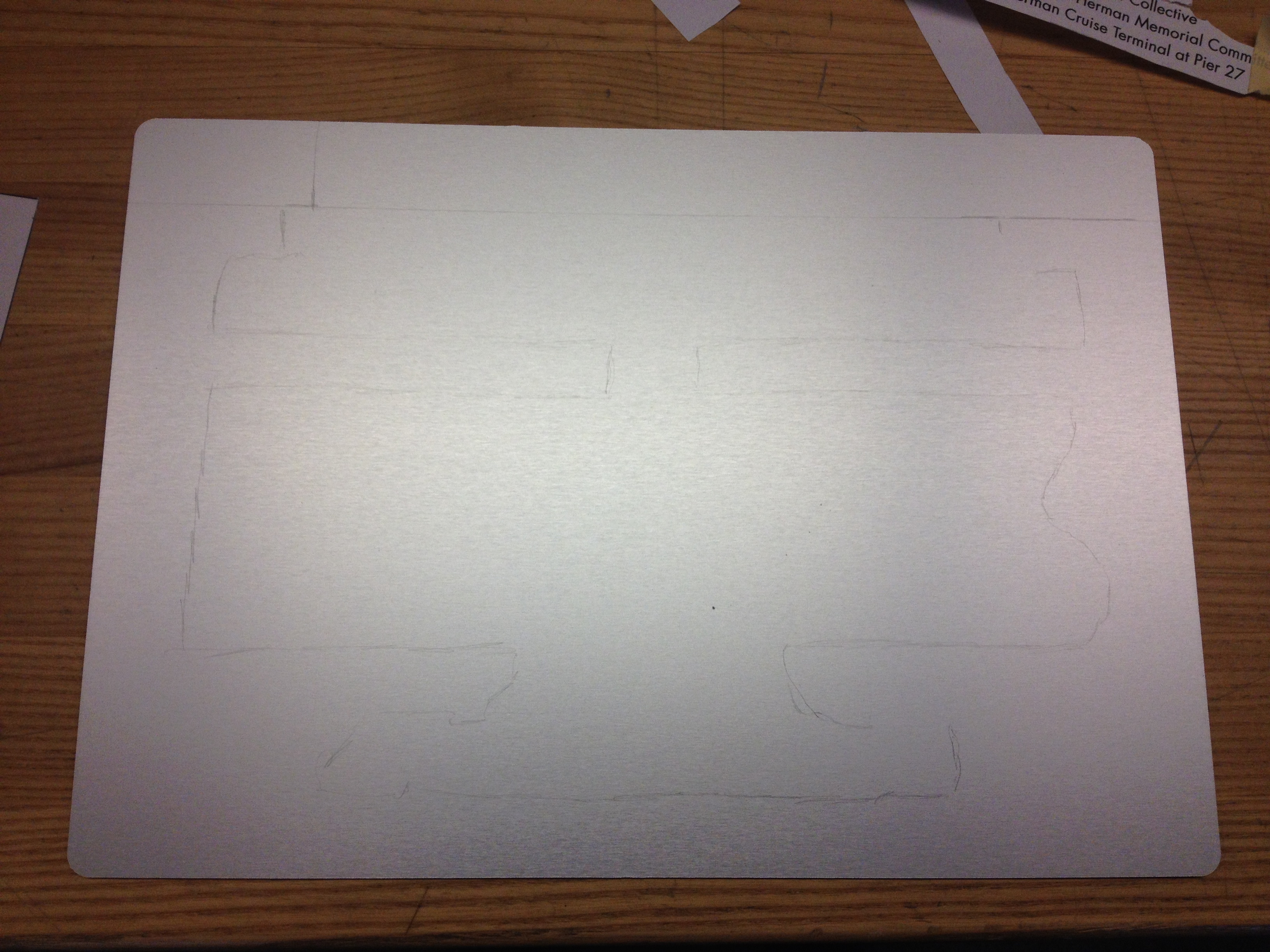 Picture of Trace the Stencil With a Pencil
