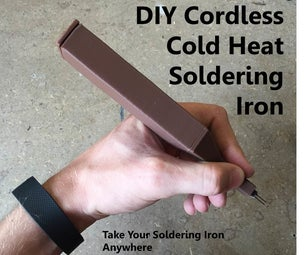 DIY Cordless Cold Heat Soldering Iron