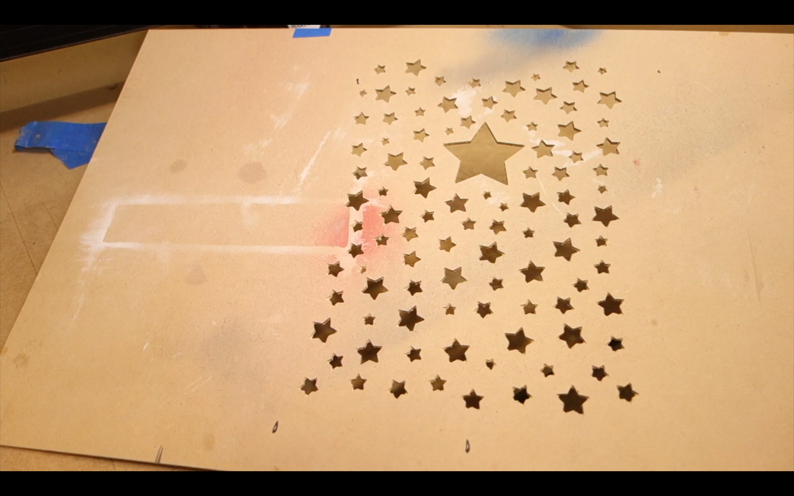 Picture of Stencil Making