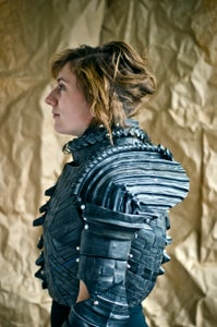 Rubberized Armor for Joan of Arc