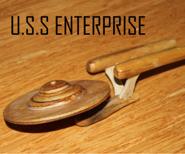 Wooden Starship Enterprise
