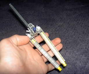 Working  Butter Fly Knex Knife