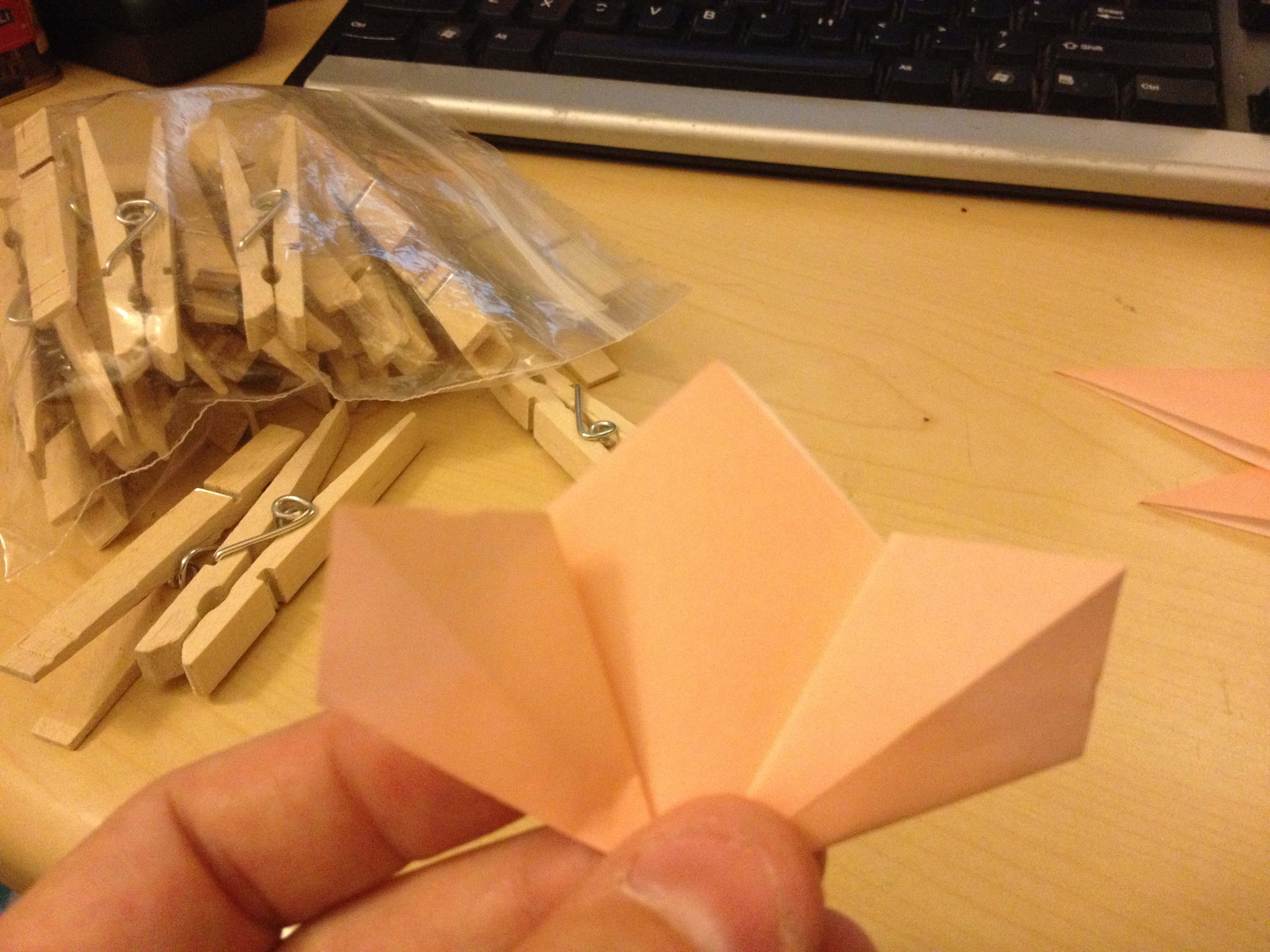 Picture of Folding the Petal Cont.