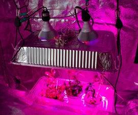 $78 Grow light - Full-Spectrum, 22 Watts, No Heat