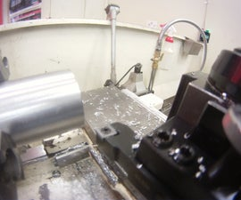 Setting up carbide tooling on a lathe