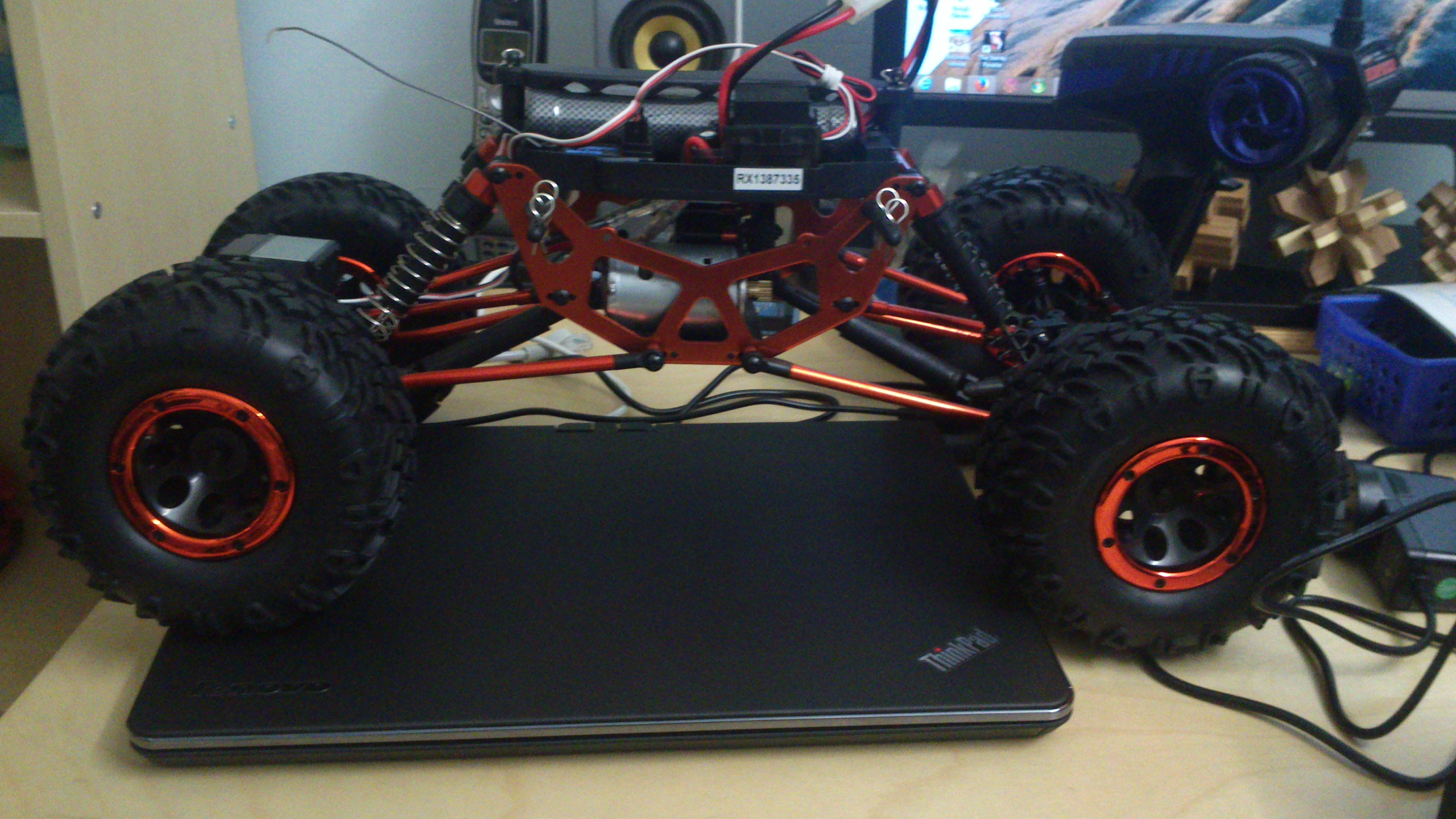 Picture of RC Car Selection and Physical Modifications