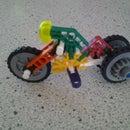 3 Wheeled K'nex Motorbike
