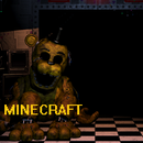 How to build Golden Freddy's head/The Death of Purple Guy in Minecraft