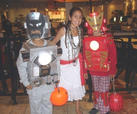 Quick Cardboard Iron Man Costumes