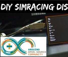 DIY Sim Racing Display Arduino