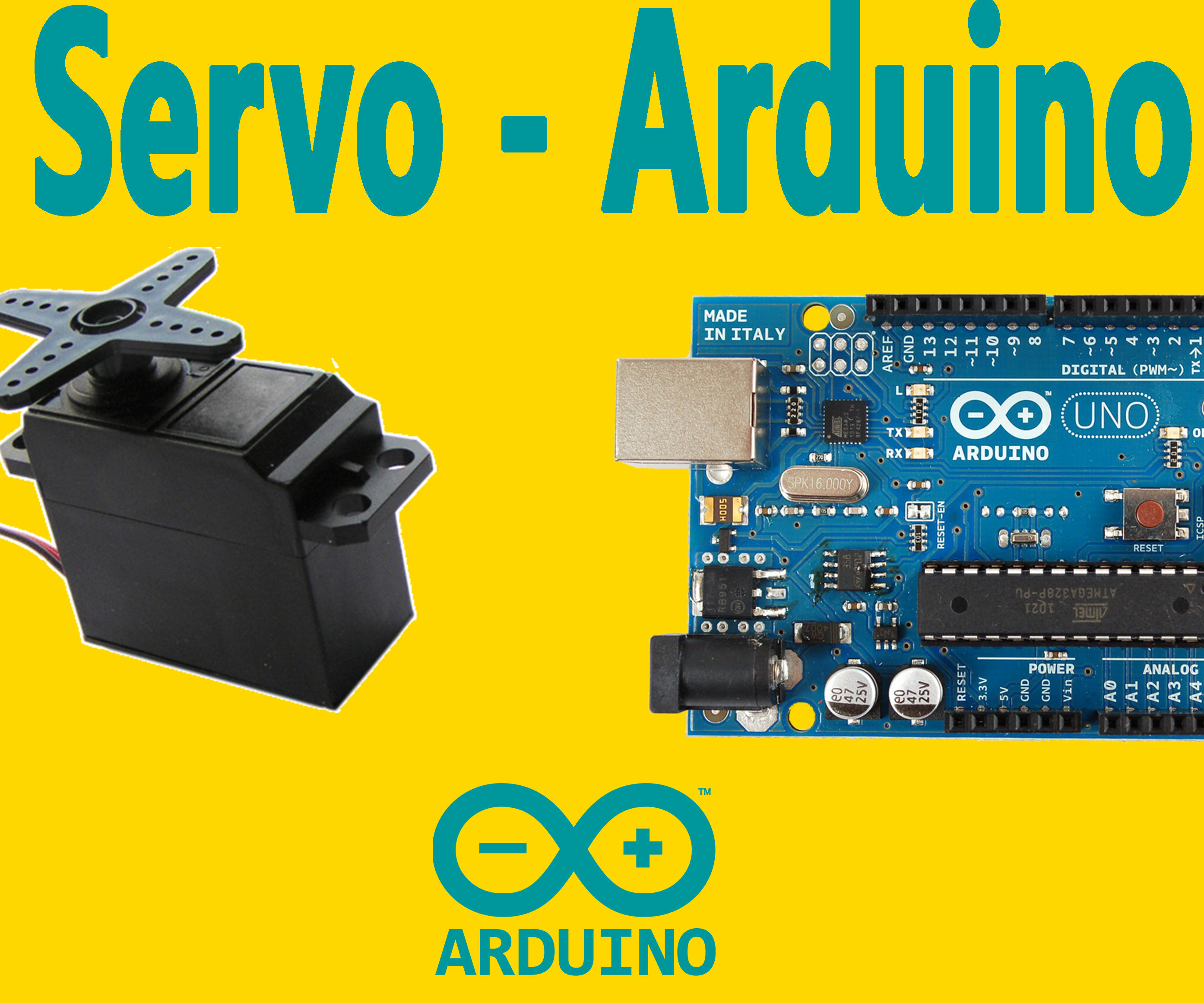 Arduino : How to Control Servo Motor With Arduino: 5 Steps (with