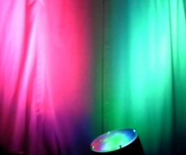Arduino + WiFi, Music Responsive LED Light Fixture