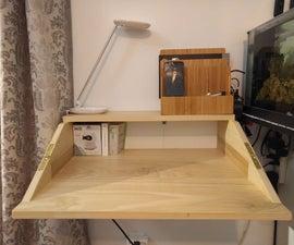 Folding Shelf Desk
