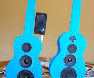 Ukulele Speakers for Ipod / Mp3
