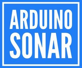 ARDUINO SONAR /w Servo and Hc-sr04