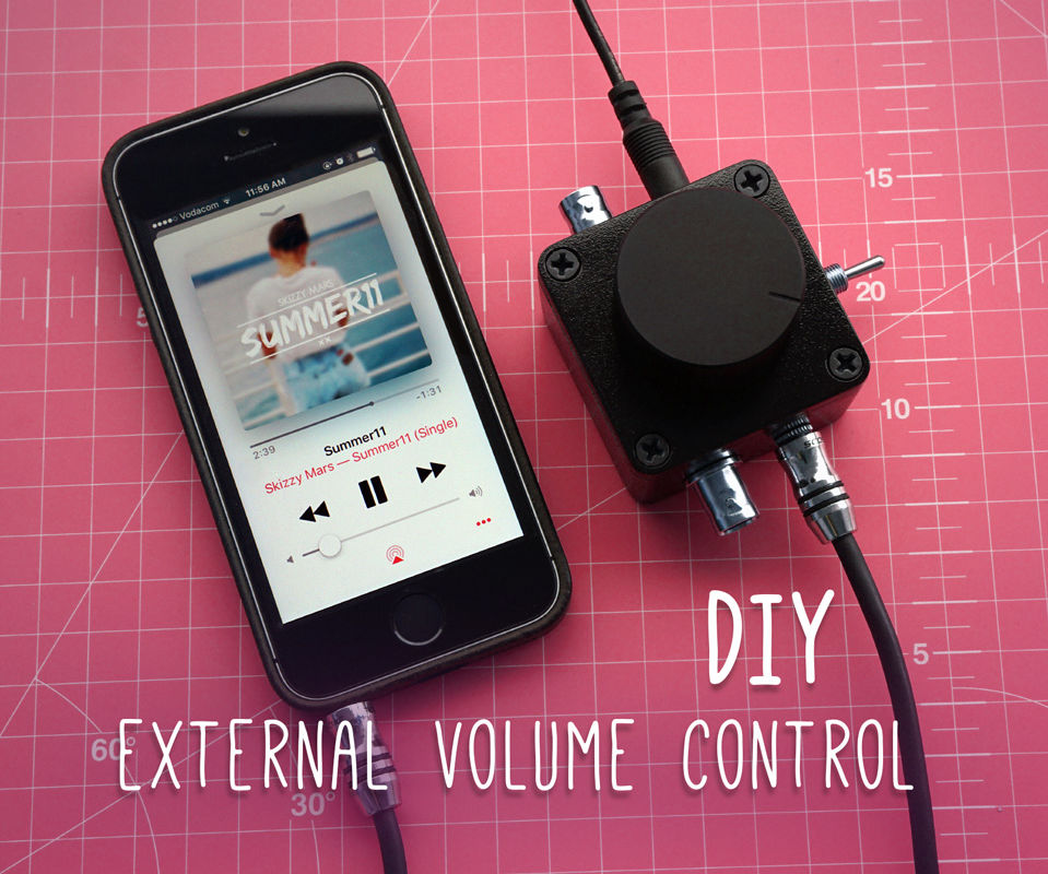 DIY External Volume Control: 10 Steps (with Pictures)