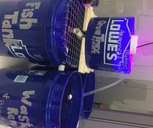 20-gallon Aquaponics System