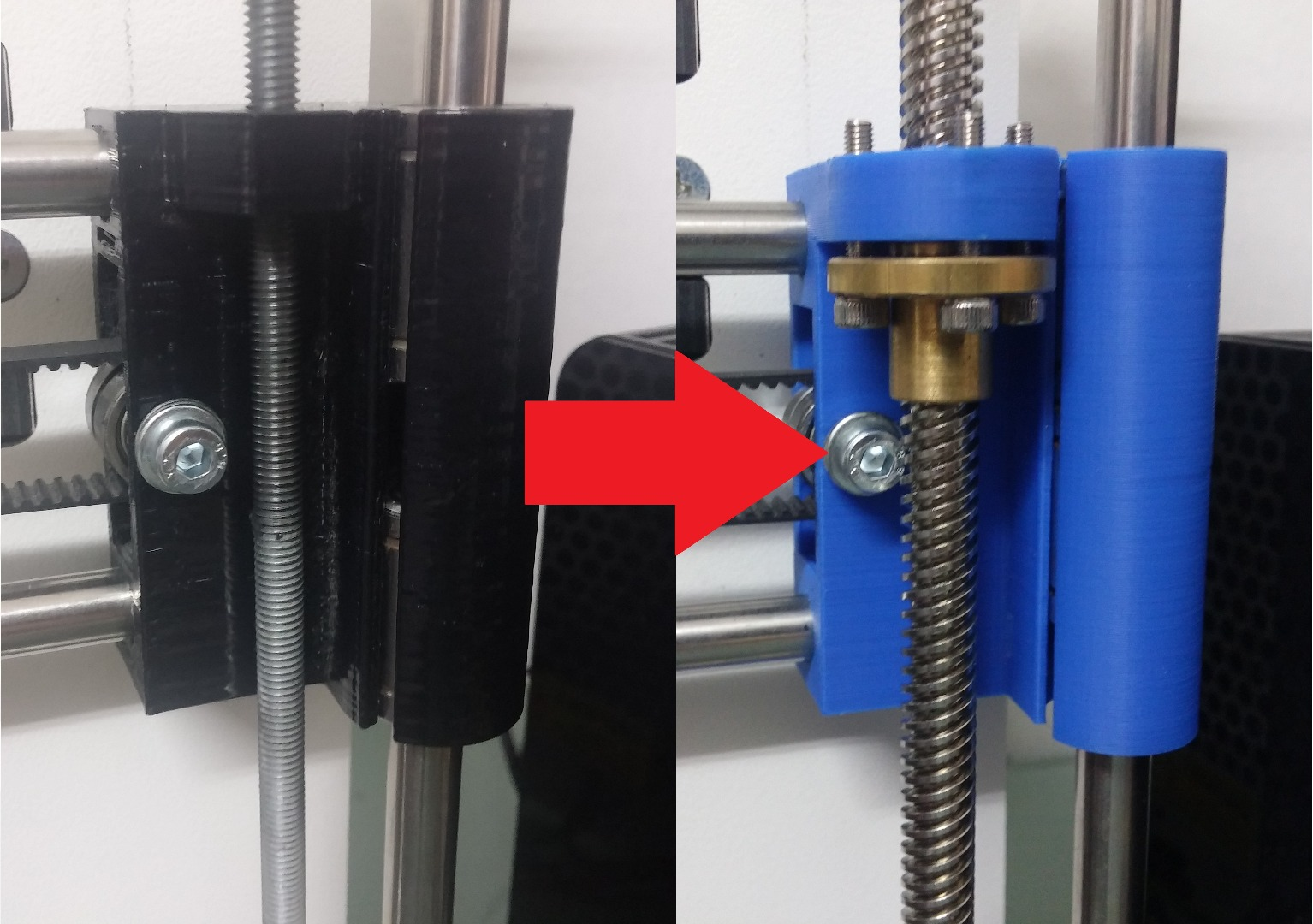 Picture of 3D Printer Lead Screw Upgrade