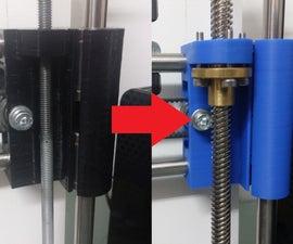 3D Printer Lead Screw Upgrade