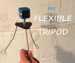 DIY Flexible Tripod From Copper Wire
