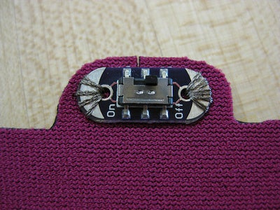 Sewing Components On