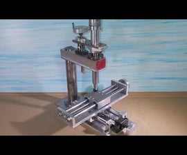 Homemade Mini Wood PCB Milling Router Mill DIY  Collet ER11 X Y Z Stage Frame Axis Slide CNC Aluminium Alloy