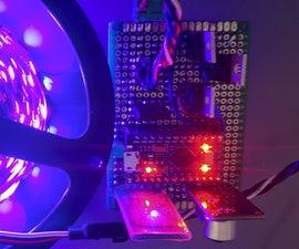 RGB Led Strip Bluetooth Controller + Music Sync