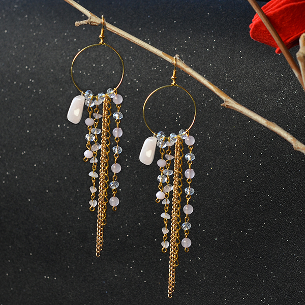 Picture of Here Is the Final Look of the Dangle Earrings.