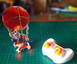 RC Balloon Bomber from Clash of Clans