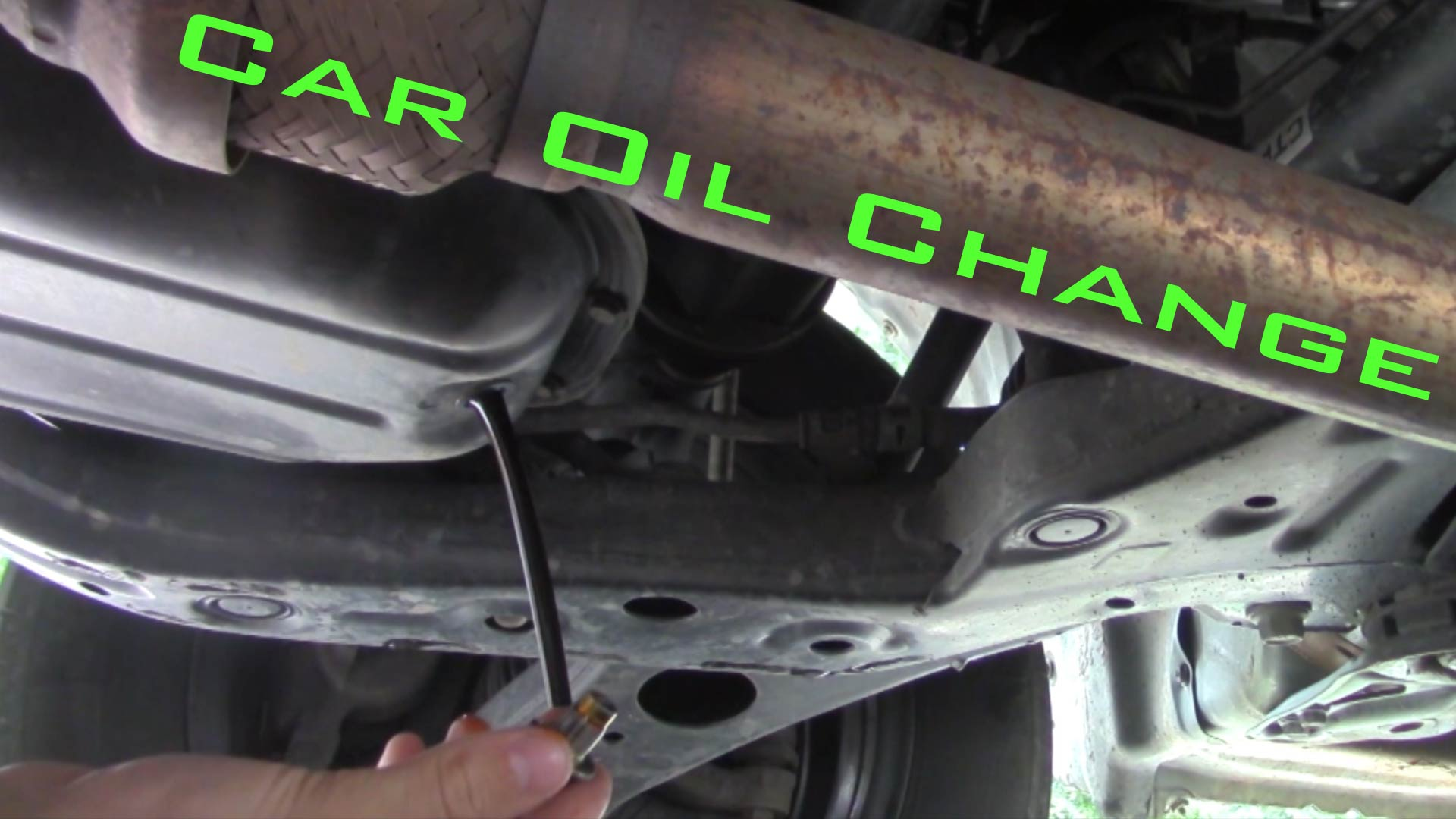 Picture of Car Oil Change- the Right Way