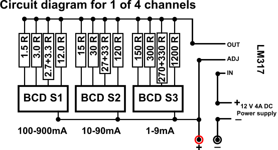 Wiring the BCD Switches