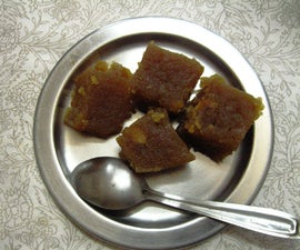 Wheat Halwa : a Delicious Sweetmeat Made From Wheat