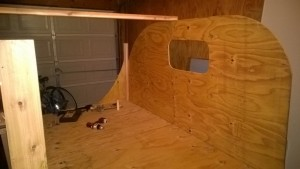 Picture of Putting Up Walls!