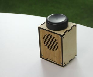 Make a Speaker by Wood Laser Cutting