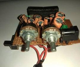 Stereo Amplifier (6W+6W) Using LA4440 IC