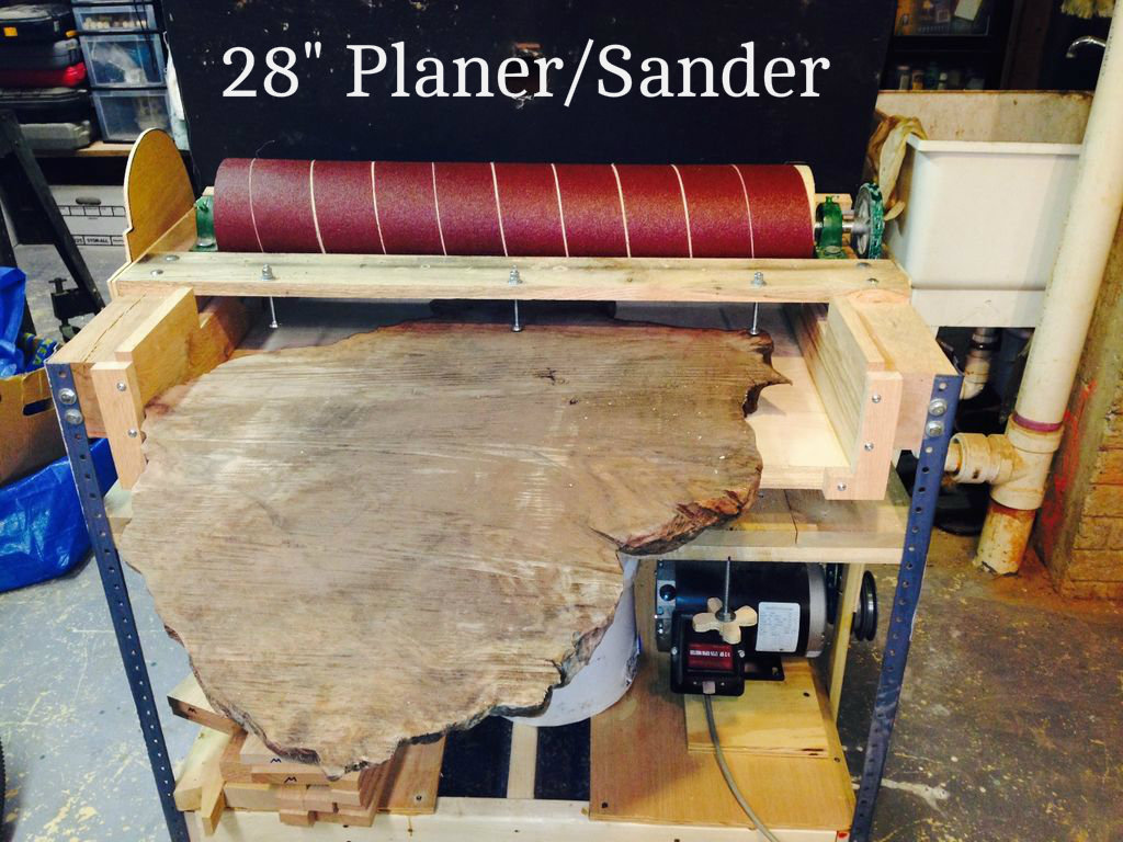 Picture of Making a 28 Inch Wide Sander/Planer