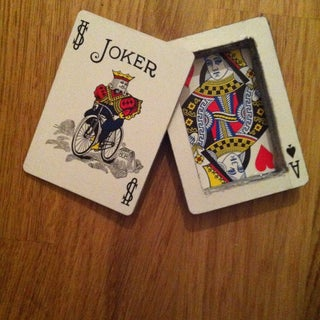 Hide Money in a Deck of Cards