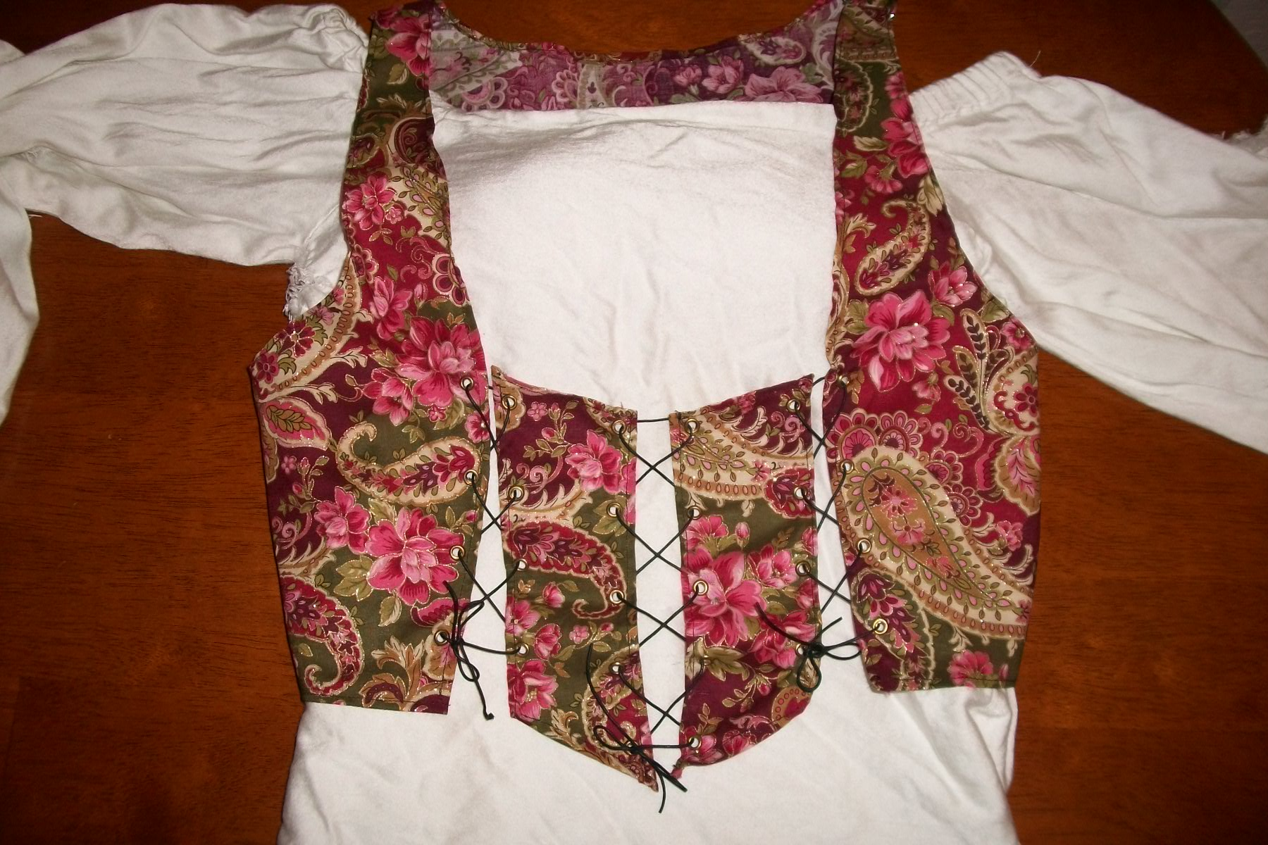 Picture of Corset making
