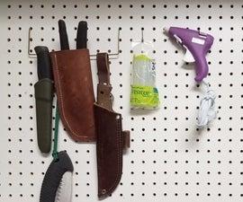 Cheap/Free DIY Pegboard Hooks