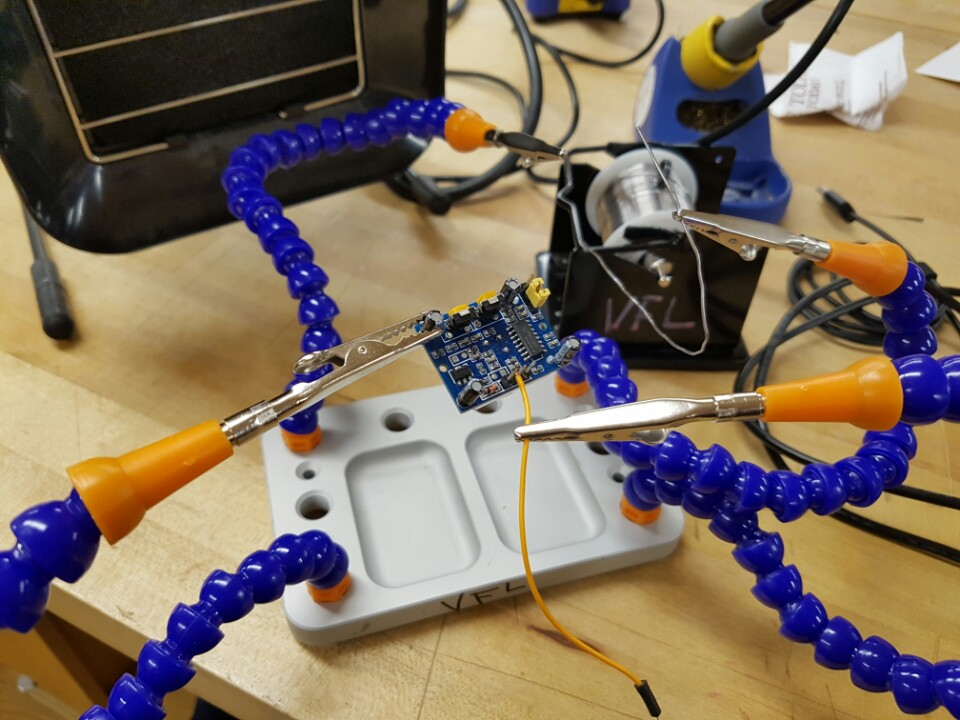 Picture of Setup the Motion Sensor