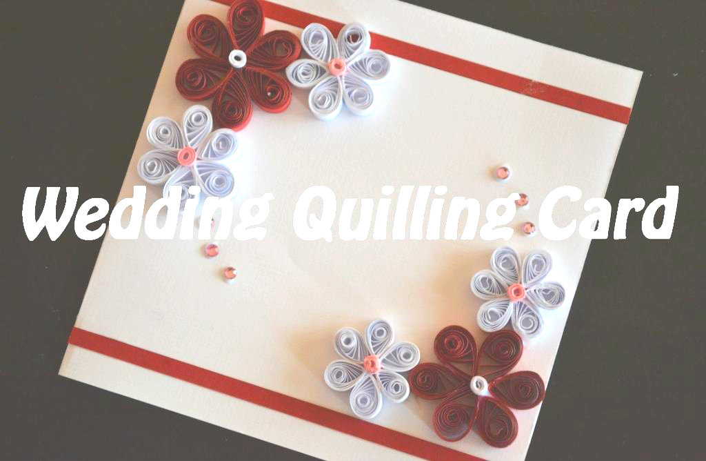 Picture of Quilling Wedding Card