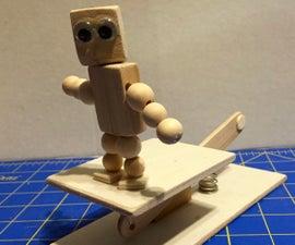 Bust-a-move Bot Push Puppet