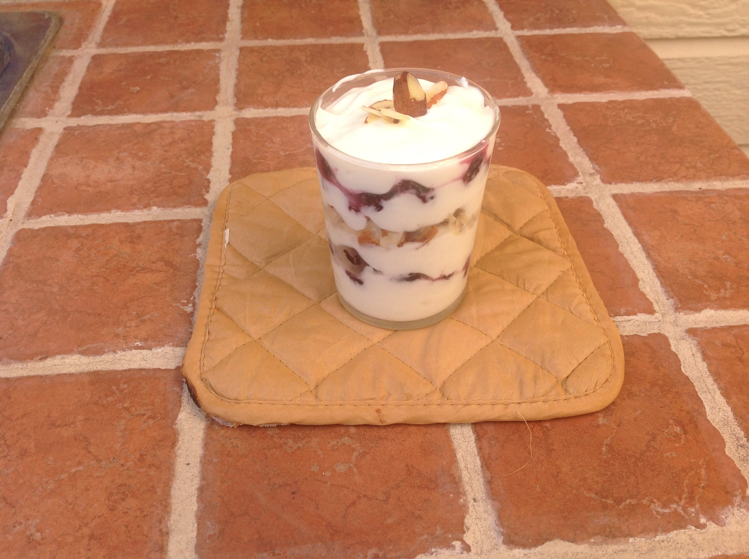 Picture of Almond and Berry Parfait