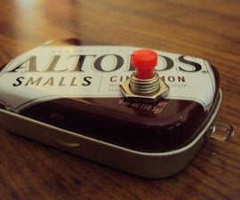 DIY ALTOIDS SMALLS JOULE THIEF FLASHLIGHT