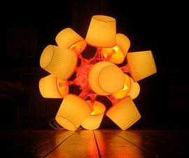 Big lamps from Ikea lampan lamps