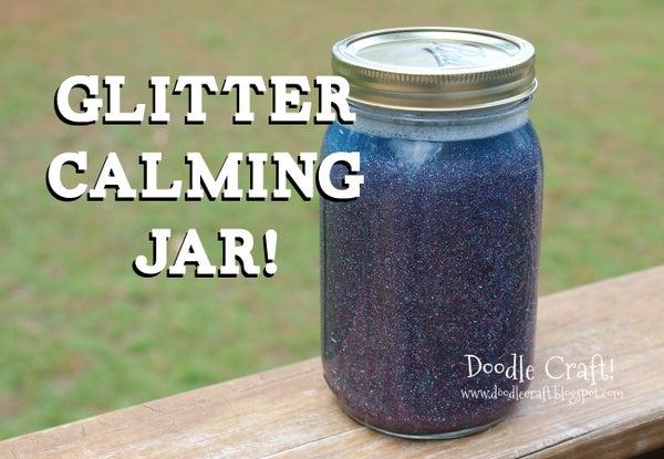 DIY Calming Glitter Jars