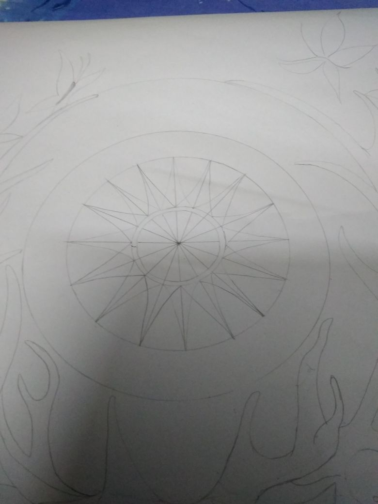 Picture of Center Spokes